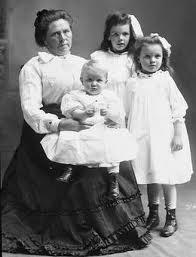 Belle Gunness & children