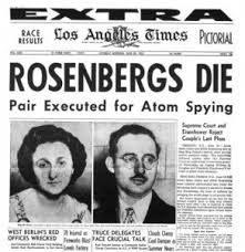 Rosenbergs Executed Headline