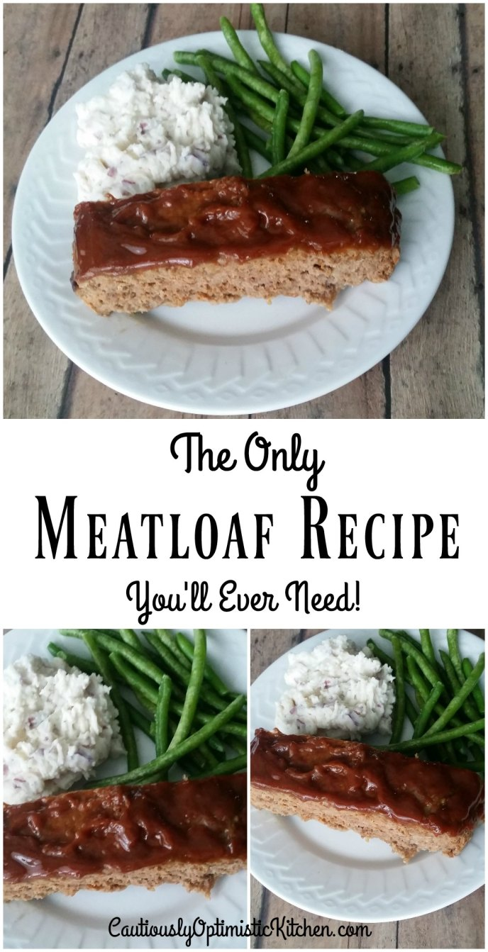 Quick and easy, the best meatloaf you'll ever eat!