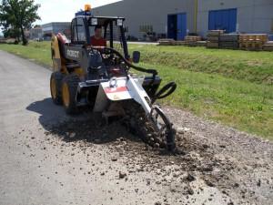 locação de valetadeira de asfalto