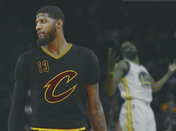 Image result for Cavs paul George uniform