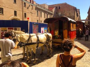 Cavalli alla Cavallerizza - Carovana Balacaval