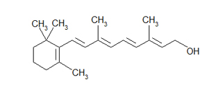 Vitamin A Chemical Structure