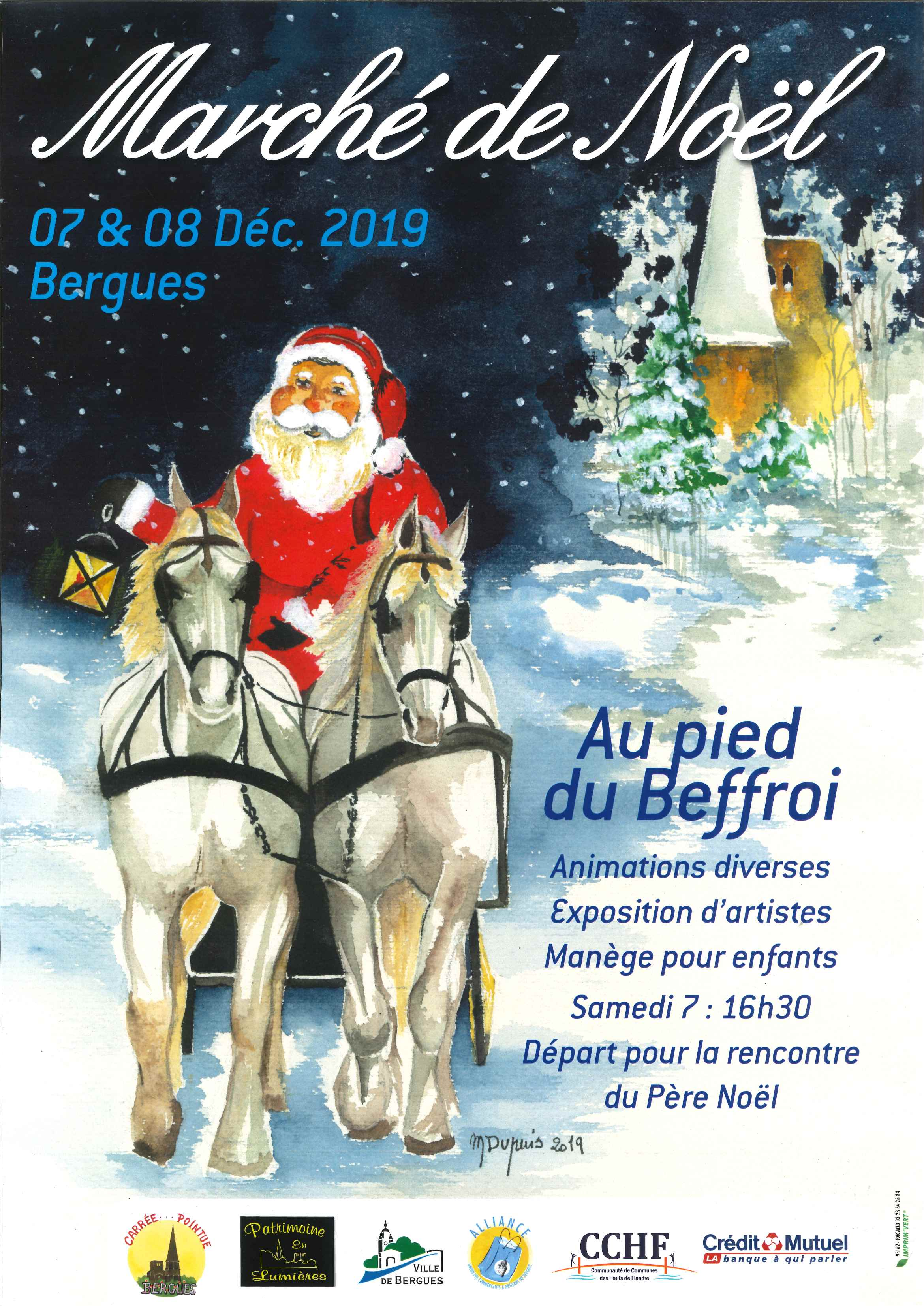 Marche de Noël - Bergues