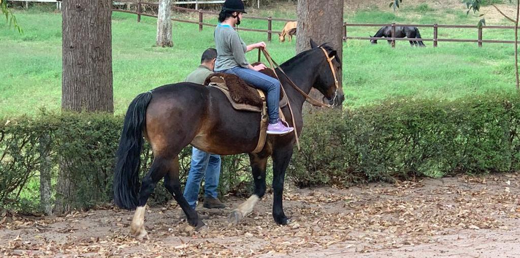Inclusão de Ouro é uma modalidade do cavalo crioulo para portadores de necessidades especiais
