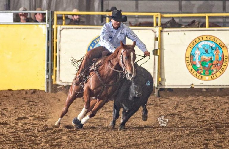 Wooodya leva Justin Wright a título de Futurity em Idaho. As provas aconteceram no Idaho Horse Park, em Nampa, local tradicional
