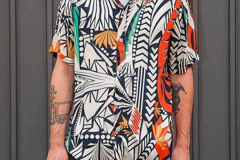 Resultado de imagem para estampa vistosa moda masculina