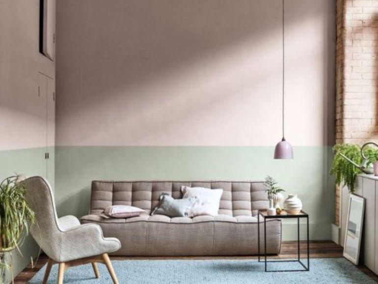 Como entrar 2020 pintando sua parede na cor da moda