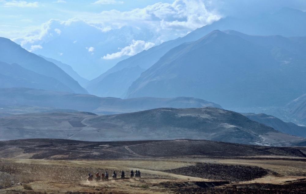 Cavalgada no Vale Sagrado em cavalos Paso Peruano - Machu Picchu - Cavalus