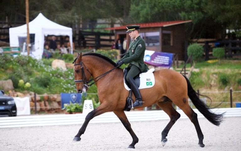 Terceiro índice olímpico para João Victor Oliva no Adestramento