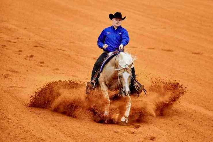 Modalidade técnica e a base para o cavalo, a Rédeas tem movimentos precisos e os competidores são julgados com base nas apresentações