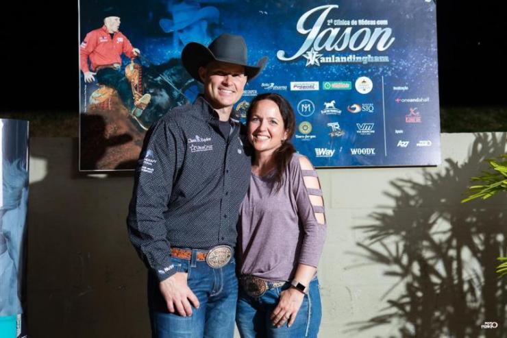 Jason Vanlandingham é o único com duas Tríplices Coroas na Rédeas e em 2020 conquistou o status de Two Million Dollar Rider pela NRHA