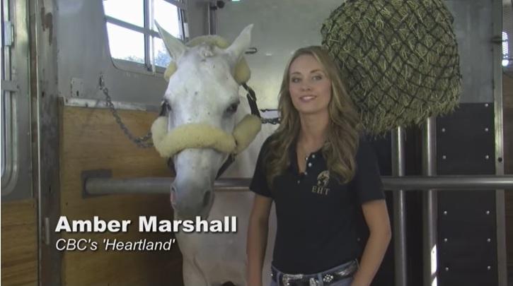 E quem dá dicas preciosas é a estrela da série de sucesso Heartland, Amber Marshall; a 'Amy' mora em uma fazenda com muitos cavalos