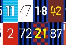 Kuriose Trikotnummern