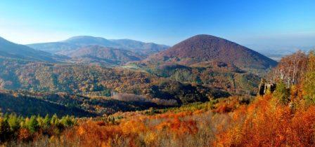 Farebná jeseň na Ivanovom vrchu