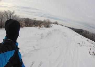 Hrebeň Čegova na bežkách