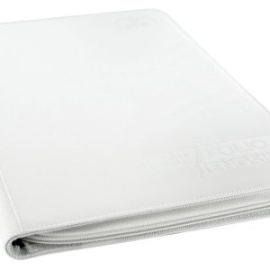 Ultimate Guard Zipfolio 360 – 18 – Pocket XenoSkin™ – Blanc
