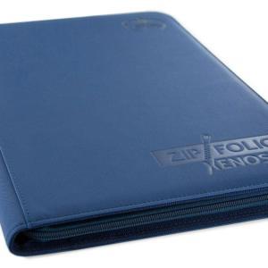 Ultimate Guard Zipfolio 360 – 18 – Pocket XenoSkin™ – Bleu