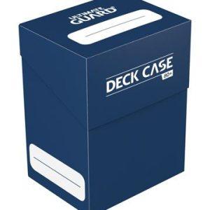 Ultimate Guard boîte pour cartes Deck Case 80+ taille standard Bleu