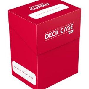 Ultimate Guard boîte pour cartes Deck Case 80+ taille standard Rouge