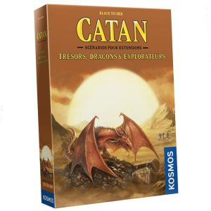 Catan – Trésors, Dragons & Explorateurs (extension)