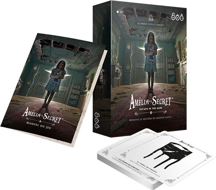 Read more about the article Amélia's Secret, un escape game en réalité augmentée