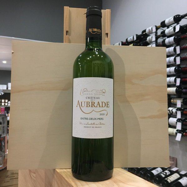 AUBRADE BLANC 2020 rotated - Château de l'Aubrade 2020 - Entre-Deux-Mers 75cl