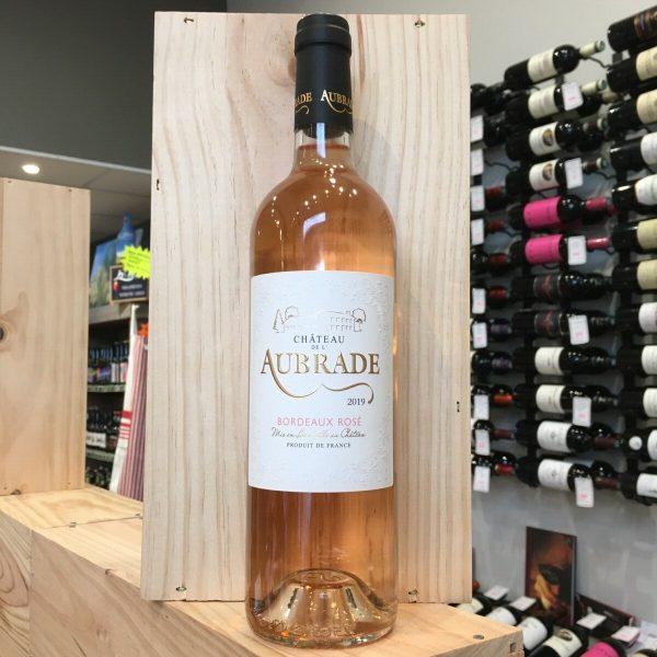 AUBRADE ROSE 19 rotated - Château de l'Aubrade rosé 2020 - Bordeaux 75cl