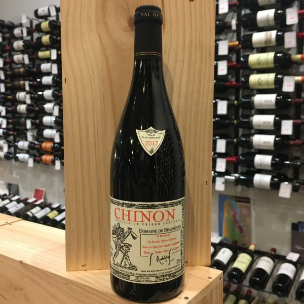 CHINON 2017 rotated - Dom. de Beauséjour 2017 - Chinon 75cl