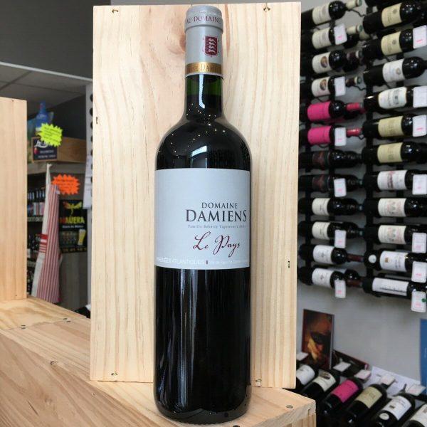 DAMIENS PAYS rotated - Domaine Damiens Le Pays 2017 - VDP Comté Tolosan BIO 75cl