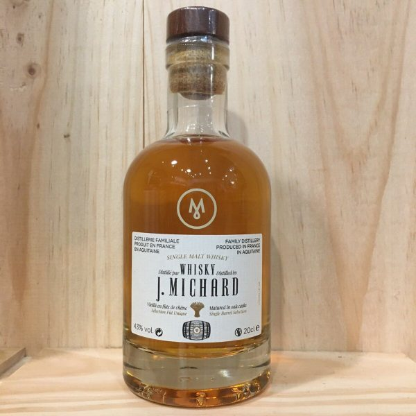 MICHARD 20CL rotated - Michard 20 cl - Single Malt Whisky
