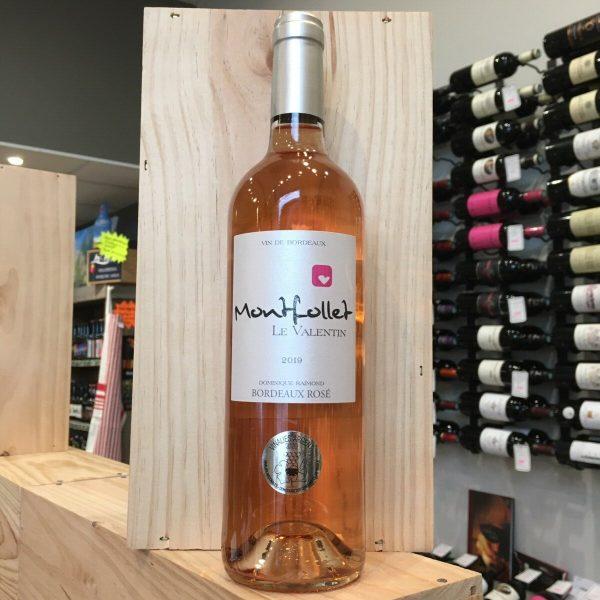 MONTFOLLET ROSE 19 rotated - Château Montfollet le Valentin 2019 - Bordeaux rosé 75cl