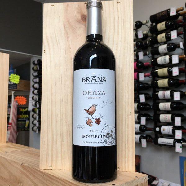 OHITZA 17 rotated - Brana - Ohitza 2017 - Irouléguy 75cl