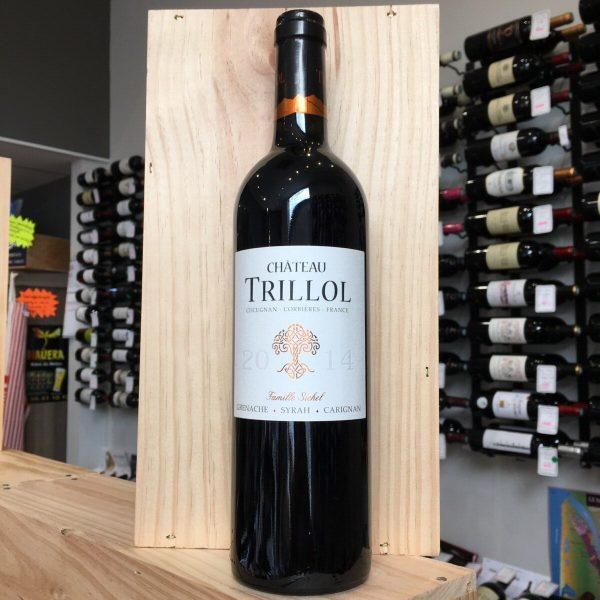 TRILLOL 14 rotated - Château Trillol 2014 - Corbières 75cl