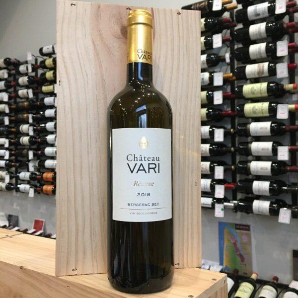 VARI RES 18 rotated - Château Vari Réserve 2018 - Bergerac BIO 75cl