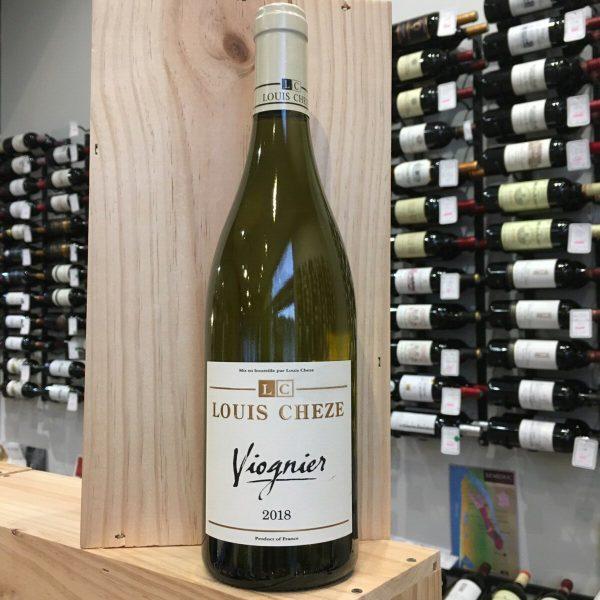 VIOGNIER CHEZE 18 rotated - Louis Chèze Viognier 2018- Pays des Collines Rhodaniennes 75cl