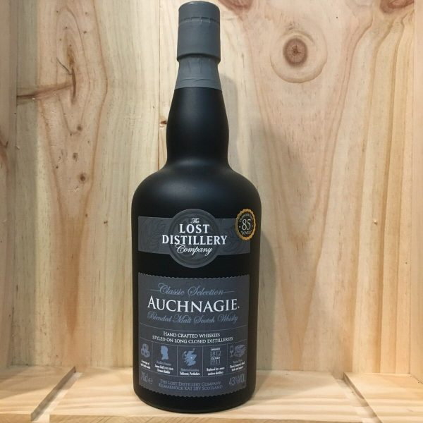 auchnagie rotated - Lost Distilleries - Auchnagie Classic Selection 70 cl - Blended Malt Scotch Whisky