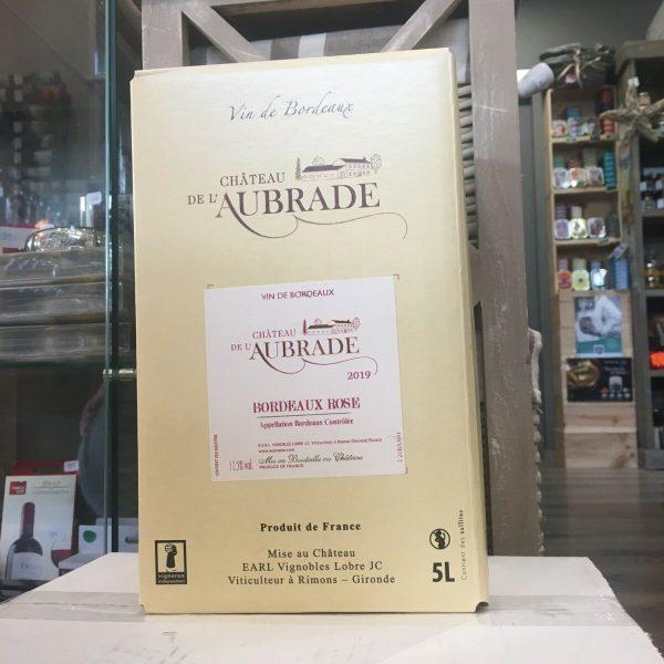 bib aubrade rose rotated - BIB Ch. de l'Aubrade rosé - Bordeaux 5 L