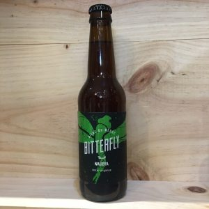 bitterfly 2 rotated - Bitterfly 33 cl - Nauera - bière blonde IPA BIO
