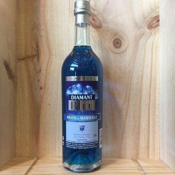 bleu de marseille 45 rotated - Diamant Bleu - Pastis de Marseille - 70cl
