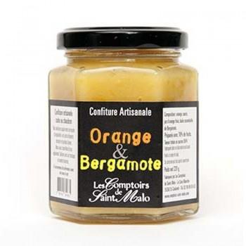 confiture orange - Confiture orange et bergamote 220 gr