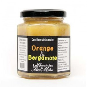 confiture orange - Confiture orange et bergamote 220 gr