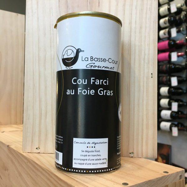 cou farci rotated - Cou de canard farci au foie gras 500 gr