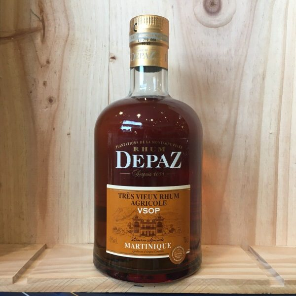 depaz vsop 45 rotated - Depaz VSOP 70 cl - rhum agricole Martinique