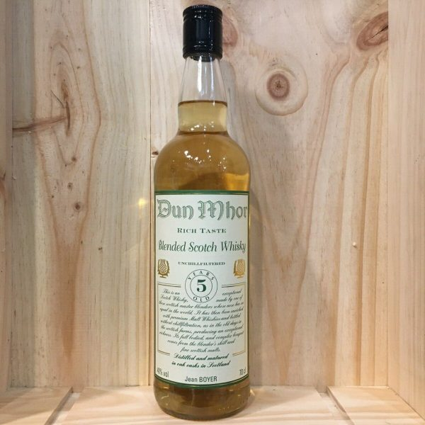 dun mohr 5 rotated - Dun Mohr 5 ans - Blended Scotch Whisky 70cl
