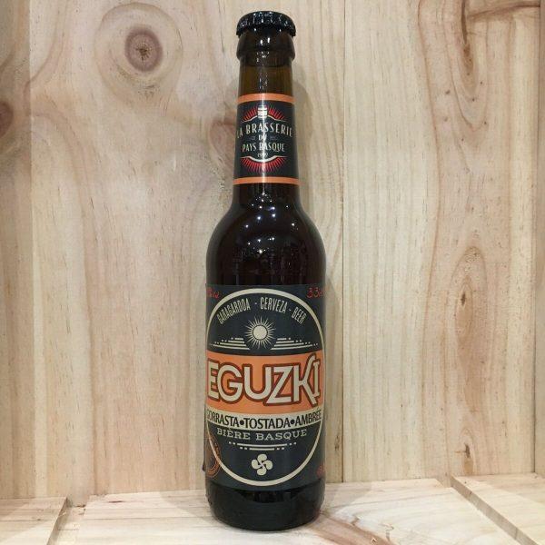 eguzki ambree rotated - Eguzki 33 cl - bière ambrée