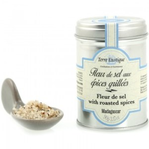 fleur sel aux epices - Fleur de sel aux épices grillées 90gr