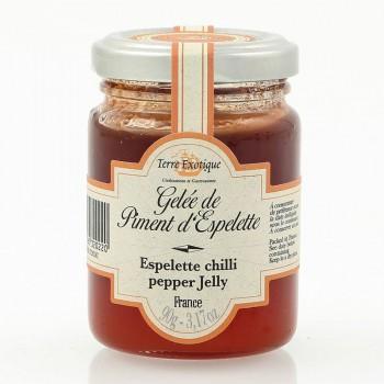 gelee piment - Gelée de piment d'Espelette 90 gr - RUPTURE