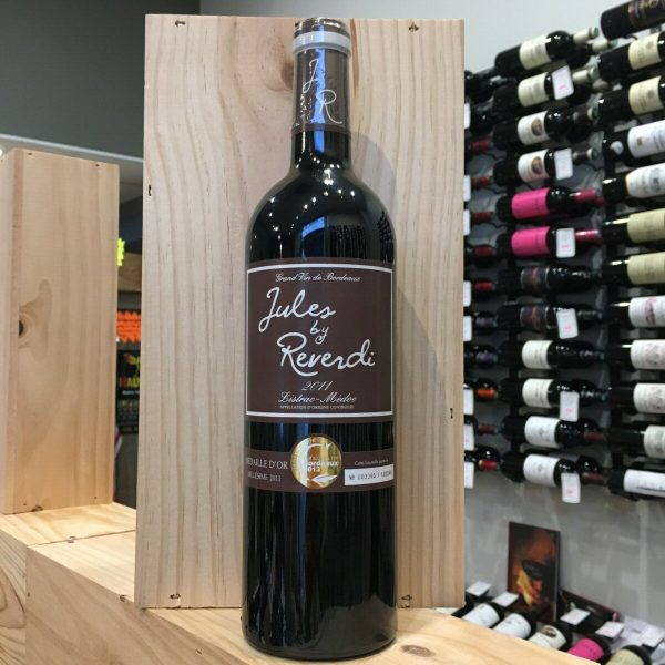 jules 1 rotated - Jules by Reverdi 2011 - Listrac 75cl