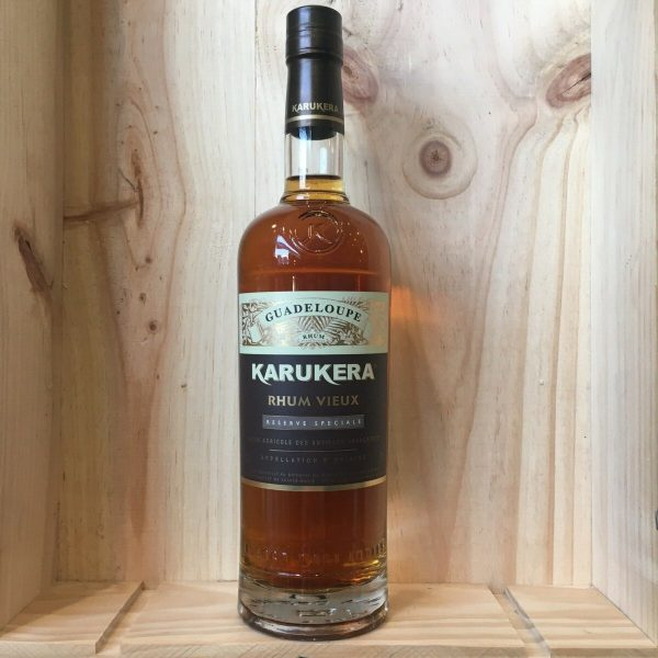 karukera res speciale 42 rotated - Karukera Réserve Spéciale 70 cl - rhum agricole Guadeloupe
